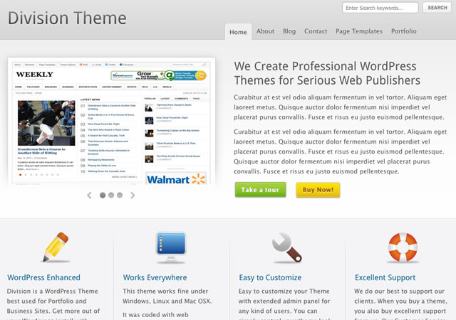 division-wordpress-theme