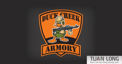 10-gun-ducks-logo-design