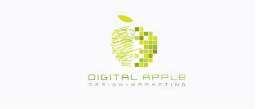 2-digital-green-apple-logo