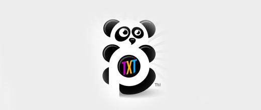 20-nice-panda-logo