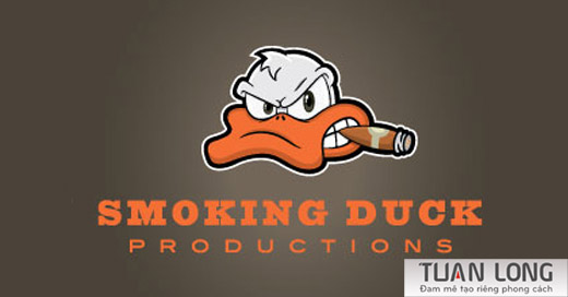 9-cigar-film-ducks-logo-design