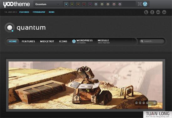 Quantum Theme 2 wordpress