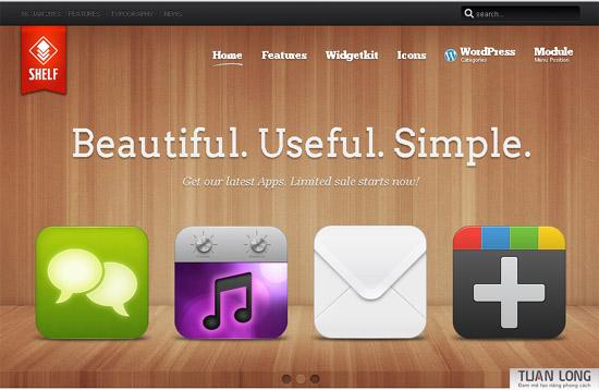 Shelf – YooTheme WordPress Theme