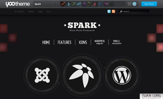 Spark theme wordpress – Yootheme