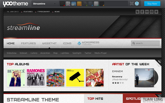 Streamline theme wordpress – Yootheme