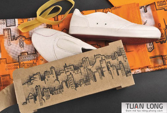 Shoe Boxes for Nagesh Shinde, Product and Packaging Graphics, Jesse Lindhorst,