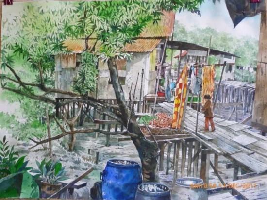 tranh mau nuoc Yong Look Lam (2)