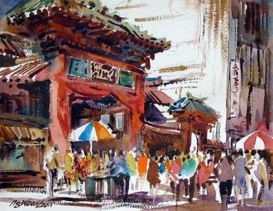 tranh mau nuoc Yong Look Lam (3)