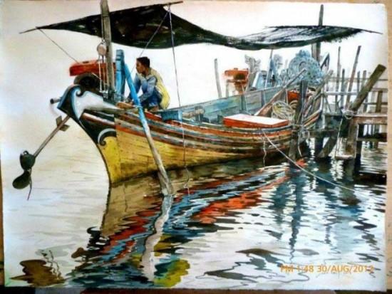 tranh mau nuoc Yong Look Lam (5)