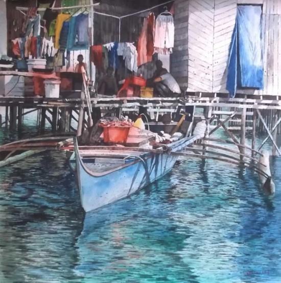 tranh mau nuoc Yong Look Lam (9)