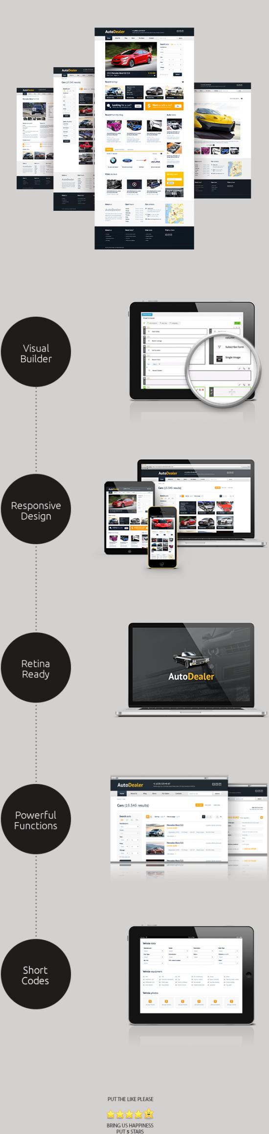 Auto Dealer theme wp