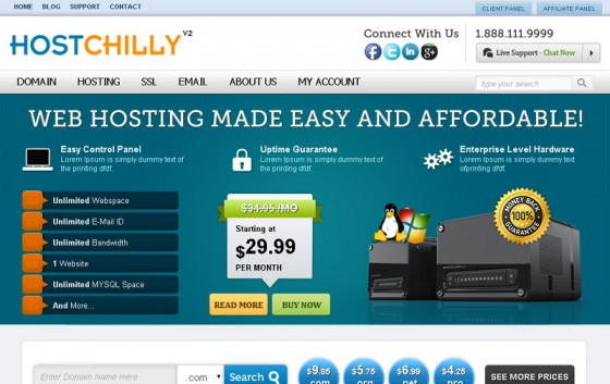 HostChilly V2_theme_wp