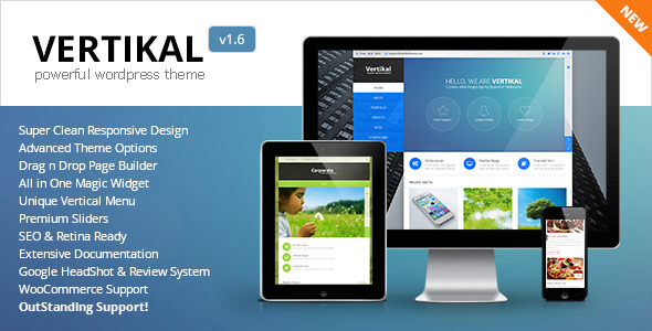 Vertikal theme wp