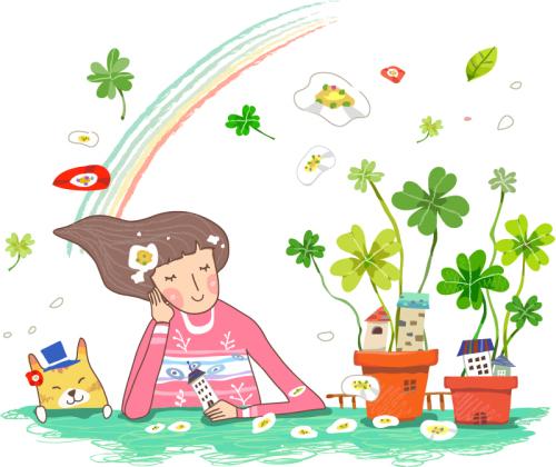 vector tinh yeu women's day (2)