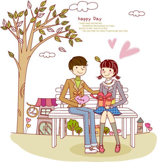 vector tinh yeu women's day (4)