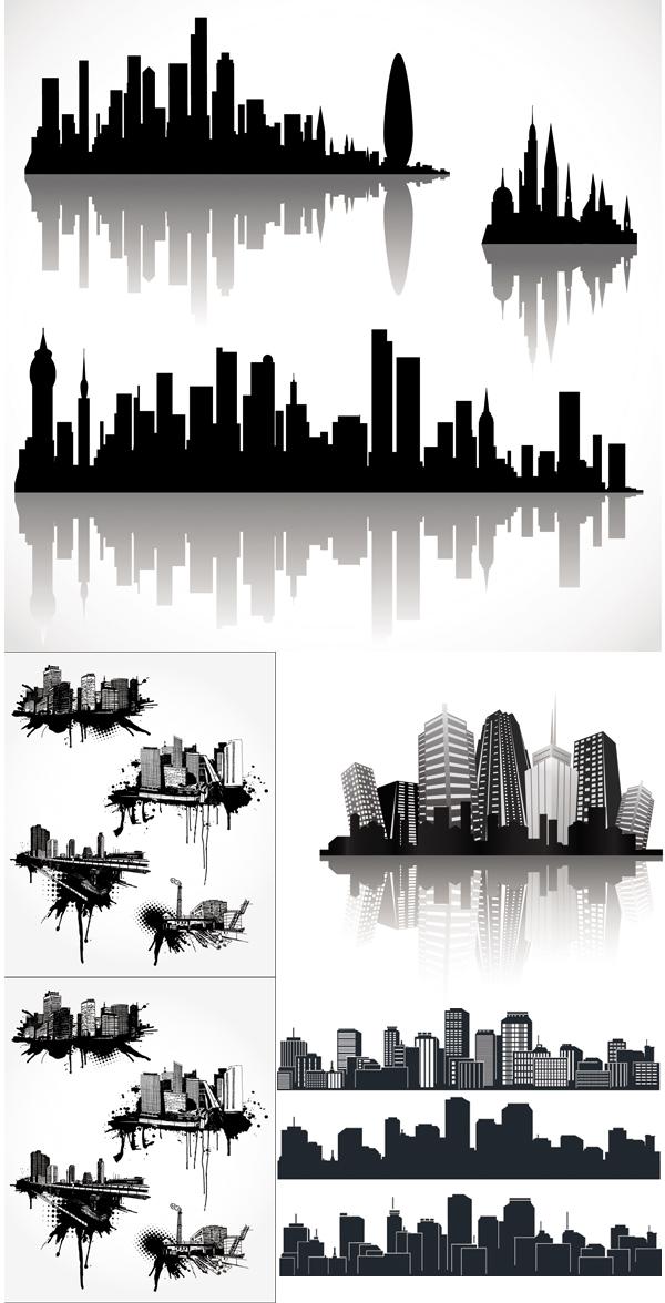 Vector building, những tòa nhà cao tầng của thế kỷ 21