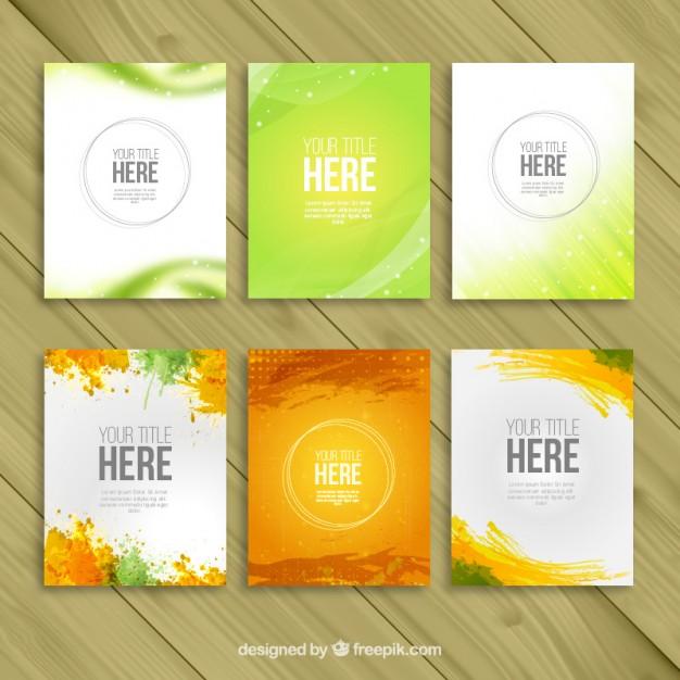 Chia sẻ Bộ Brochure file Ai cực Đẹp dành cho Designer.