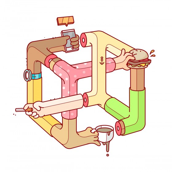 Minh họa thông minh của Burnt Toast Creative (8)