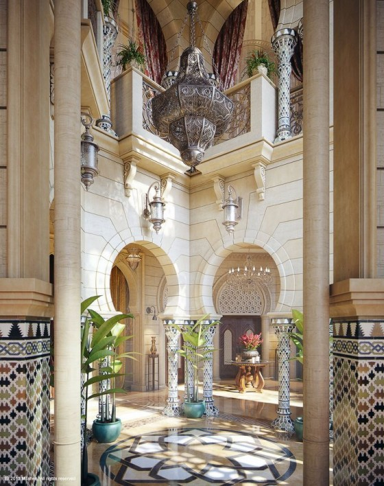 Phong cách thiết kế nội thất Moroccan là gì (8)