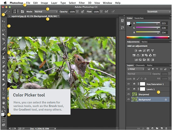giao-dien-photoshop-cong-cu-color-picker-tool