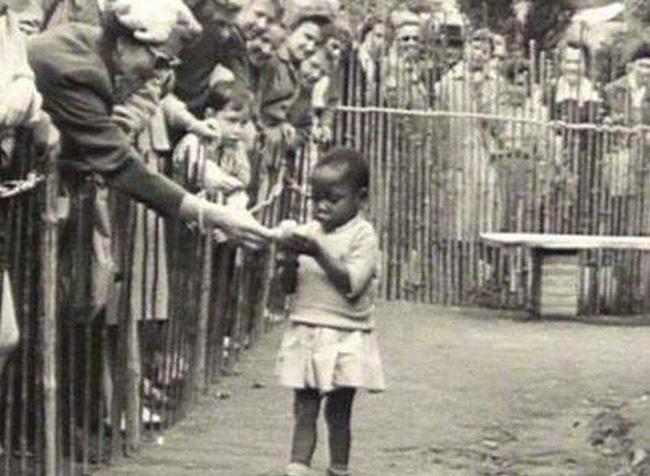 Bức ảnh bé gái châu Phi: Câu chuyện đau lòng về những vườn thú người tại châu Âu