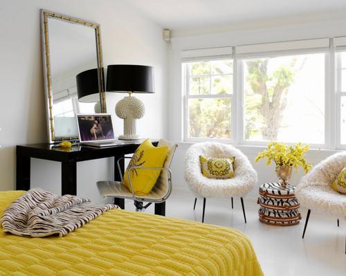 Những mẫu sofa trắng đơn giản mà tuyệt đẹp cho phòng ngủ