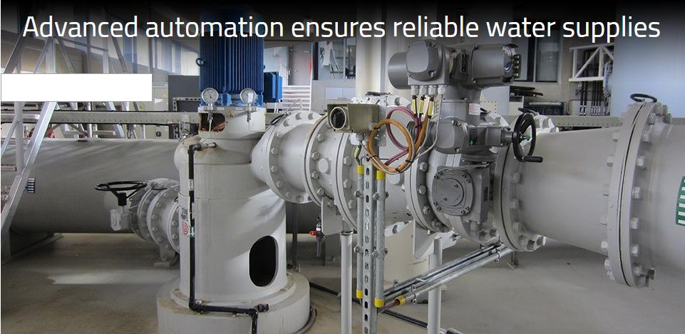 Tự động hóa nâng cao đảm bảo cung cấp nước van công nghiệp
