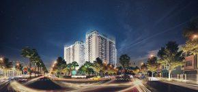 Dự án Tara Residence với vị trí giao thông thuận tiện.