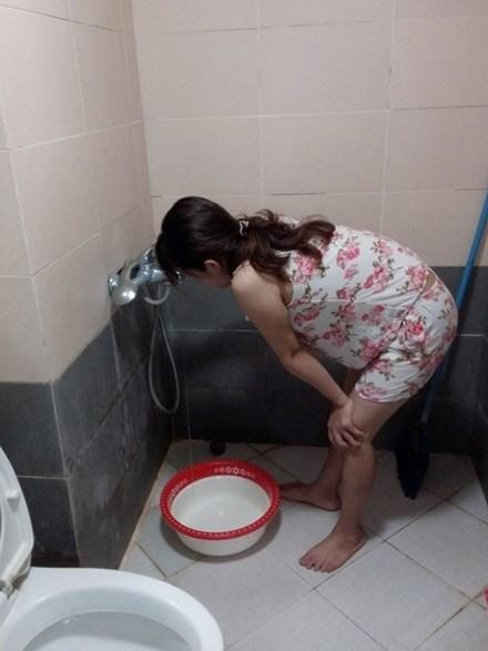 Thiếu nước trầm trọng tại khu đô thị Đặng Xá (Gia Lâm, Hà Nội)