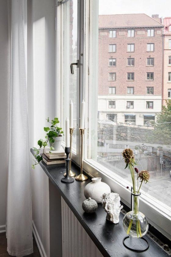 Tầm nhìn tuyệt đẹp trong khoảng trong căn hộ.