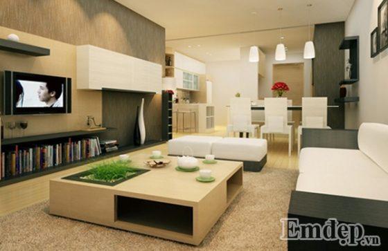 Hướng cửa chính cực kỳ quan yếu đối có nhà mặt đất cũng như căn hộ nội thất chung cư.