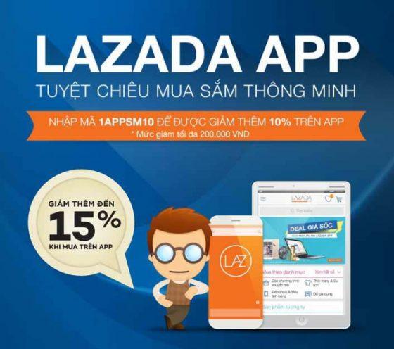 Đăng ký nhận tin khuyến mại Lazada qua Email