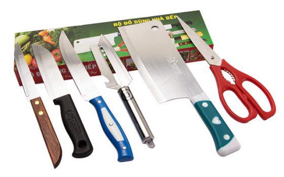 Phòng ngủ không để dao kéo