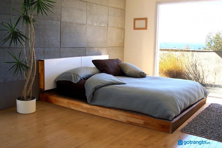 có-nên-dùng-giường-không-chân
