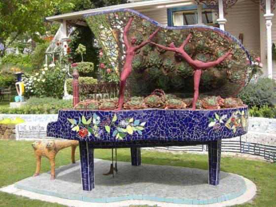 Đài phun nước trang trí sân vườn