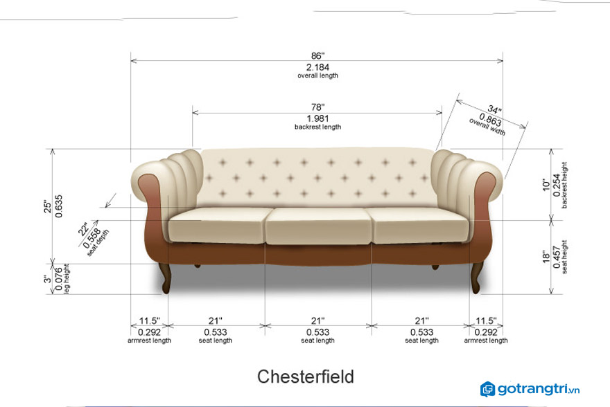 kích-thước-ghế-sofa-văng