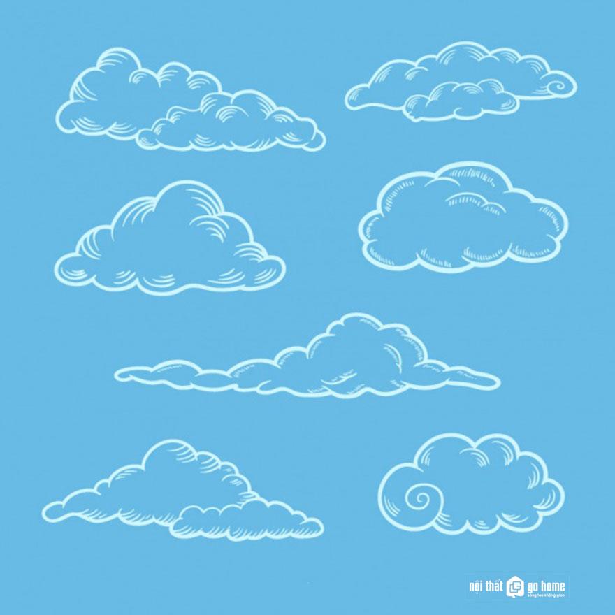 Đám mây vector 11