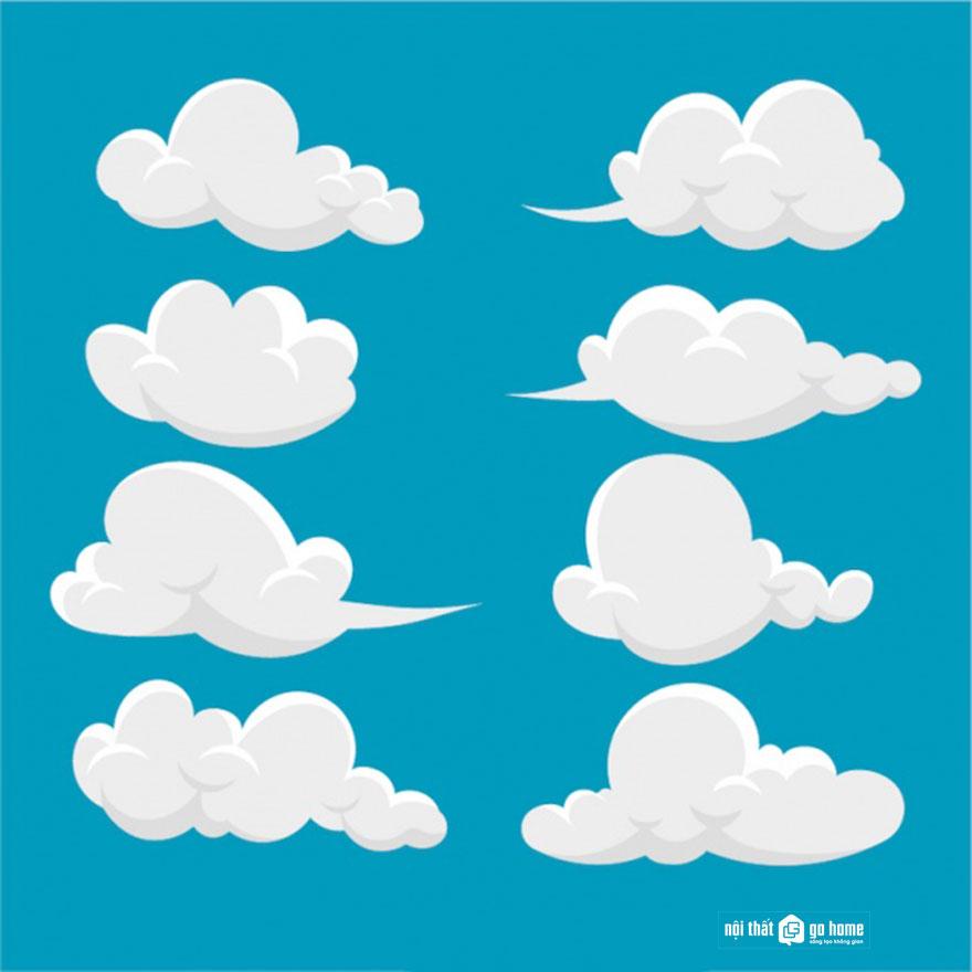 Đám mây vector 16