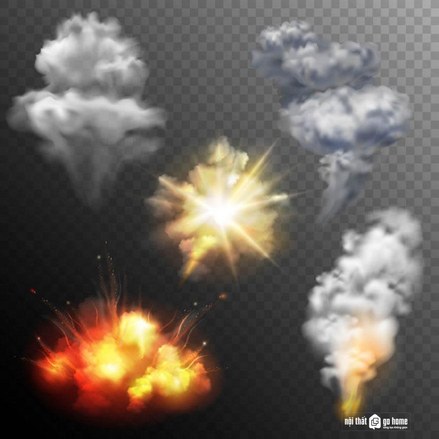 Đám mây vector 23