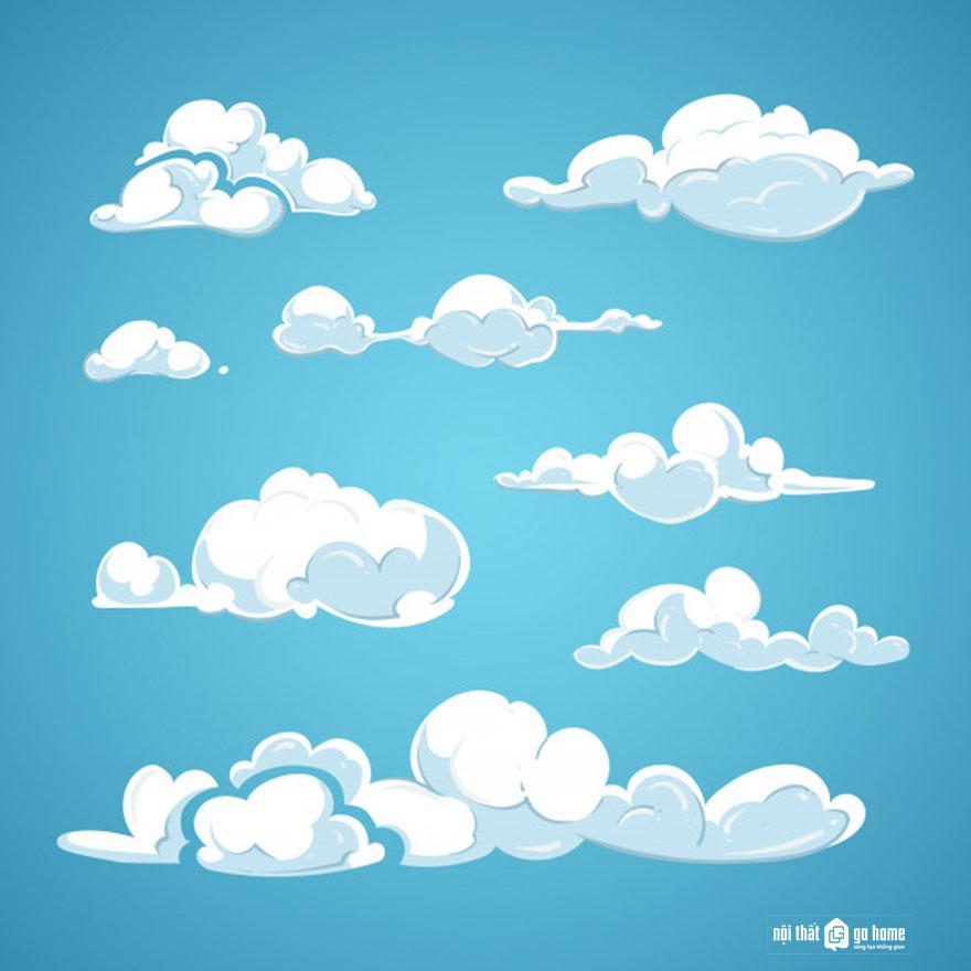 Đám mây vector 37