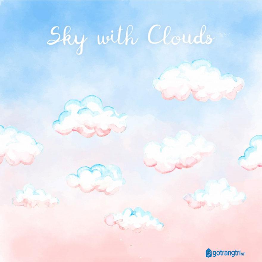 Đám mây vector 38