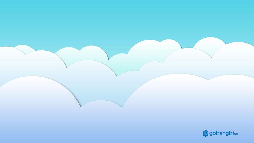 Đám mây vector 48