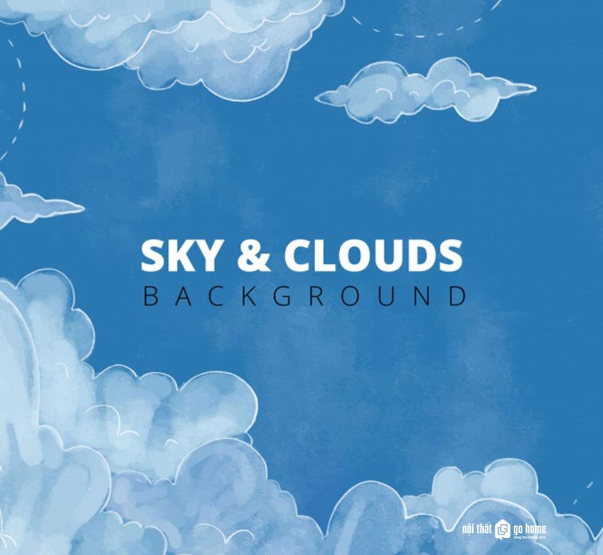 Đám mây vector 55