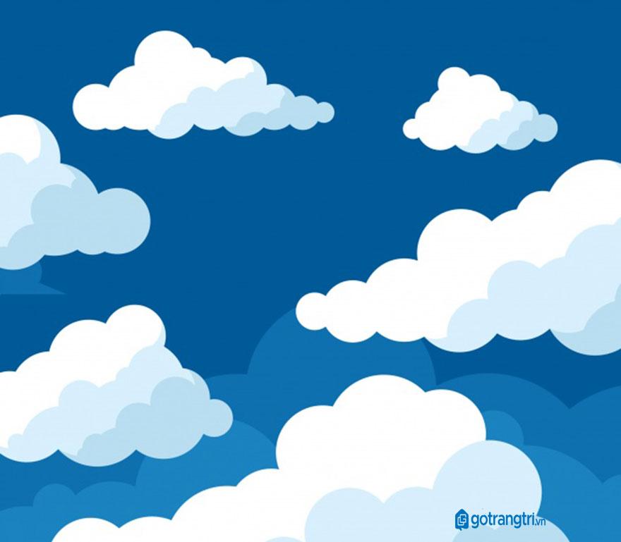 Đám mây vector 7