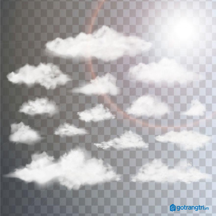 Đám mây vector 8
