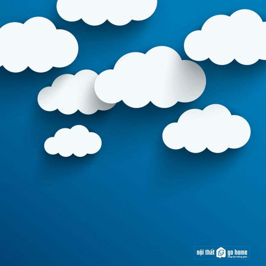 Đám mây vector 10