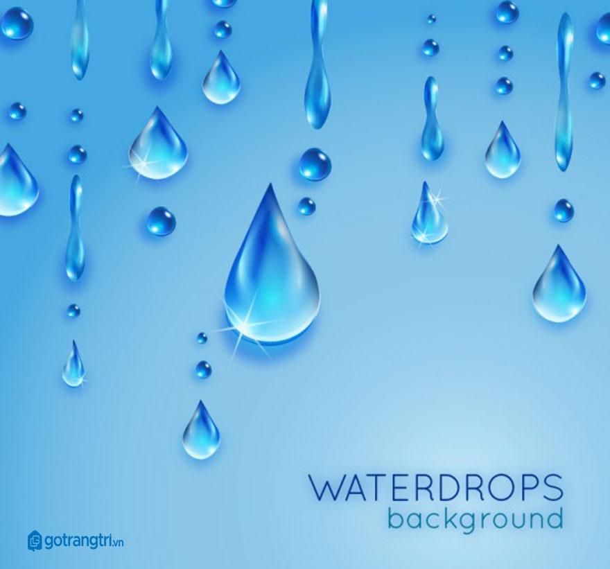 mẫu giọt nước vector đẹp 20