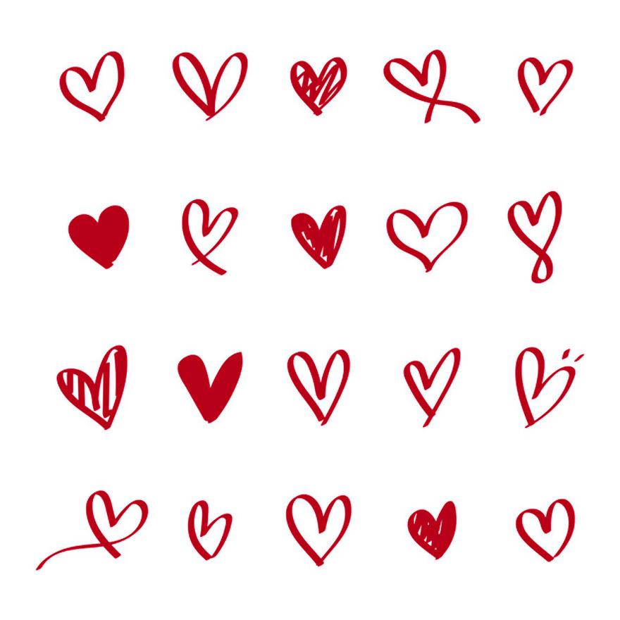 Vector trái tim miễn phí 9