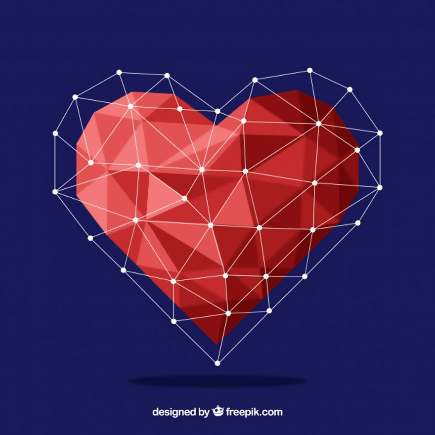Vector trái tim miễn phí 18