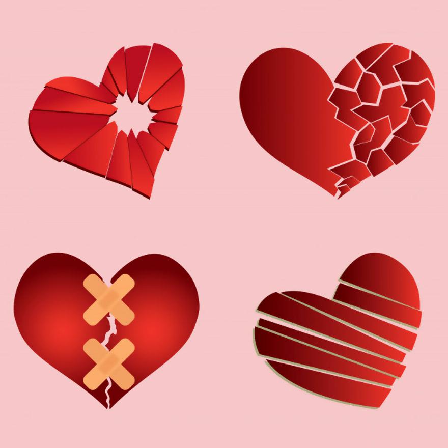 Vector trái tim miễn phí 32